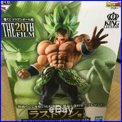 Ichiban Kuji Dragon Ball Super Saiyan Broly The 20Th Film Last One Prize
