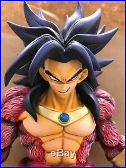 InStock DragonBall AF Dragonball Z Goku Super Saiyan 4 Broly Deluxe Figure Resin