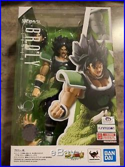 LOT SH Figuarts Super Saiyan God SSGSS Vegeta, Goku, Gogeta, And Super Broly NIB