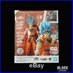NEW Super Saiyan God Son Goku Dragon Ball Super Broly Set Tamashii SH Figuarts