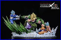 Pre-Order/Deposit Dragon Ball Super Saiyan Broly Goku Vegeta GK Statue Studio