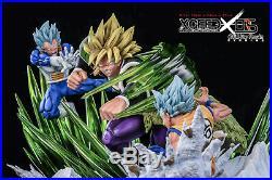Pre-Order Dragon Ball Legendary Saiyan Broly Goku Vegeta GK Statue Studio