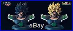 Pre-Order Dragon Ball Z Broly 1/4 Bust Super Saiyan Black GK WUKONG Studio