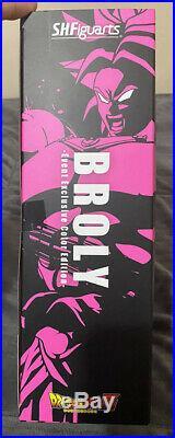 Rare! Dragonball Z NYCC S. H. Figuarts Super Saiyan God SS Broly