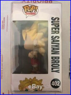 SDCC 2018 STICKER Funko Pop Dragon Ball Z #402 Super Saiyan Broly