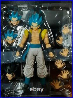 SH Figuarts Dragon Ball Super LOT Super Saiyan Blue Gogeta and Armored Broly