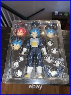 SH figuarts Super Saiyan God Super Saiyan Vegeta DBS Broly Bandai Tamahashi
