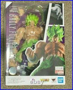 S. H. Figuarts Dragon Ball Super Saiyan Broly Full Power Bandai Figure