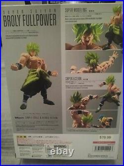 S. H. Figuarts Super Saiyan Broly Full Power Dragon Ball Figure Bandai