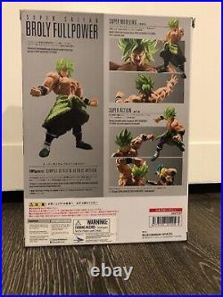 S. H. Figuarts Super Saiyan Broly Full Power Dragon Ball Figure Bandai IN STOCK