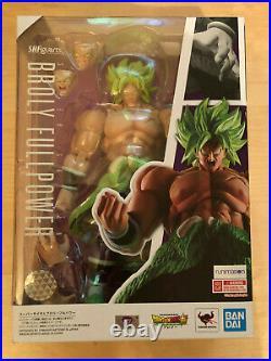 S. H. Figuarts Super Saiyan Broly Full Power Dragon Ball Z Figure Bandai