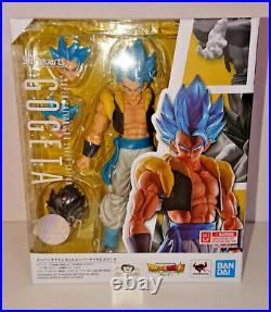S. H. Figuarts Super Saiyan God Gogeta Dragon Ball Super Broly Action Figure