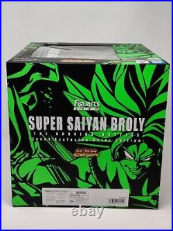 Sdcc 2020 Ex S. H. Figuarts Zero Super Saiyan Broly The Burning Battle Sealed Nib