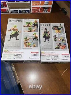 Sh Figuarts Dragonball Z Super Saiyan Broly Movie Set Sealed