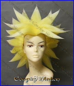 Super Saiyan Broly Custom Made Cosplay Wig commission577