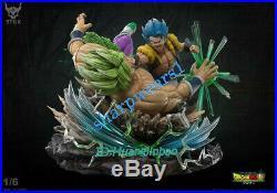 Super Saiyan God Super Saiyan Gogeta VS Broli Statue Painted Model Pre-sale DBZ